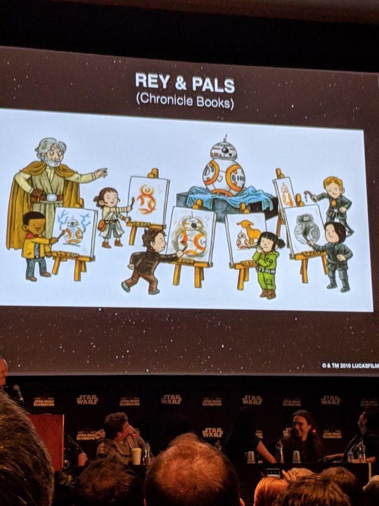Vorschauseite aus Rey and Pals