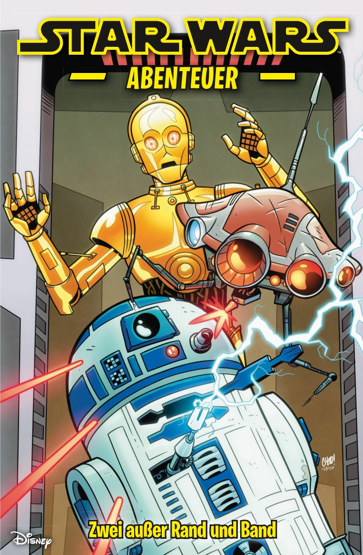 Star Wars Abenteuer, Band 6: Zwei außer Rand und Band (19.11.2019)