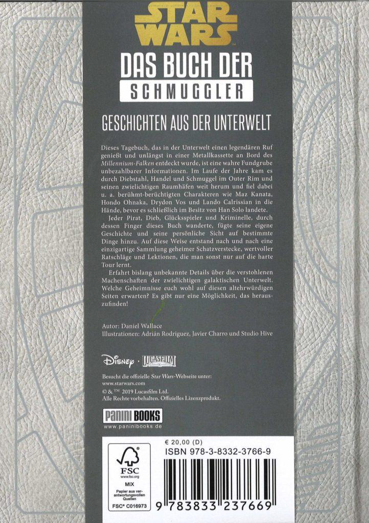 Das Buch der Schmuggler - Rückseite