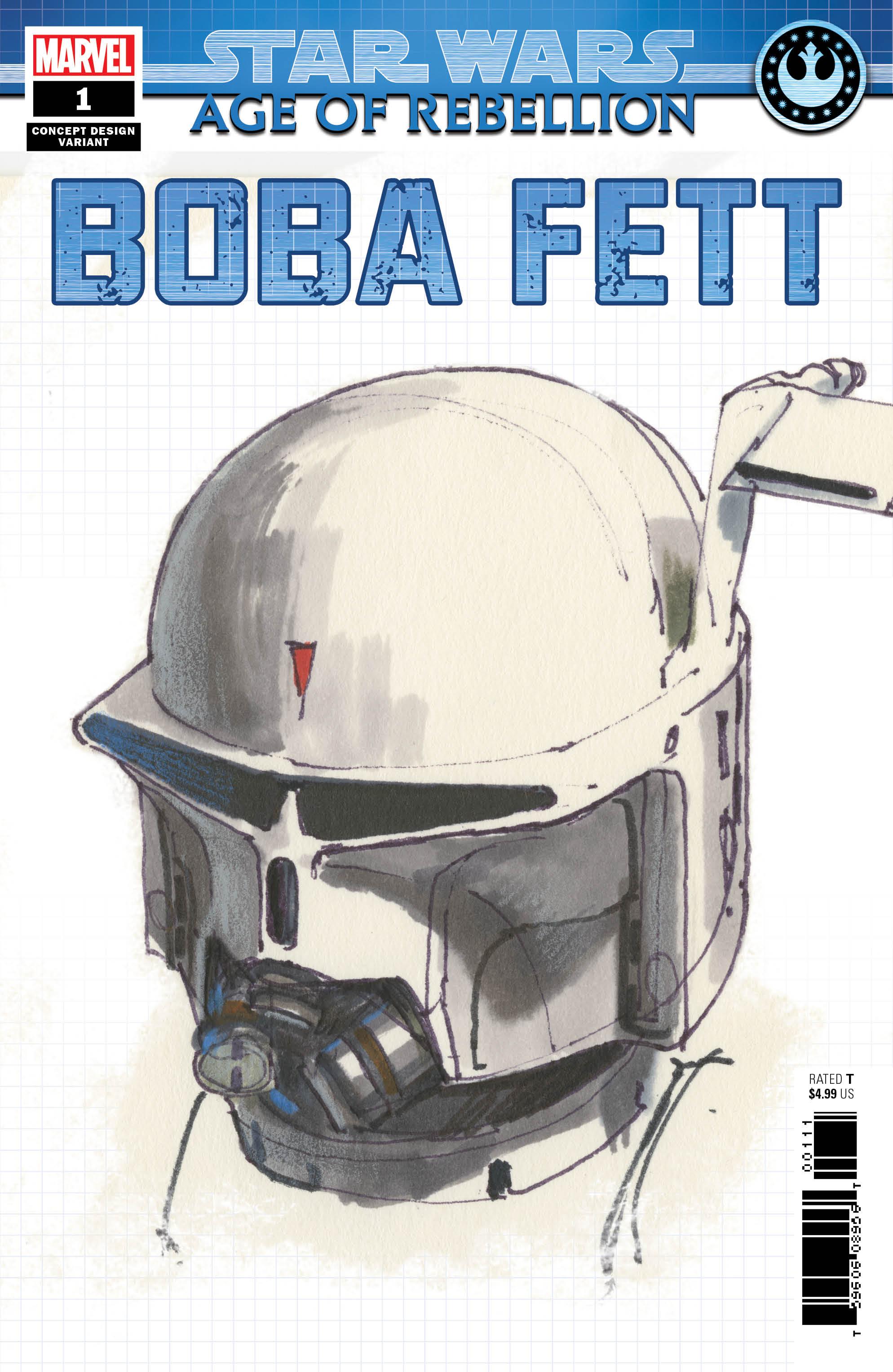 Age of Rebellion: Boba Fett #1 (Ralph McQuarrie Concept Design Variant Cover) (08.05.2019)
