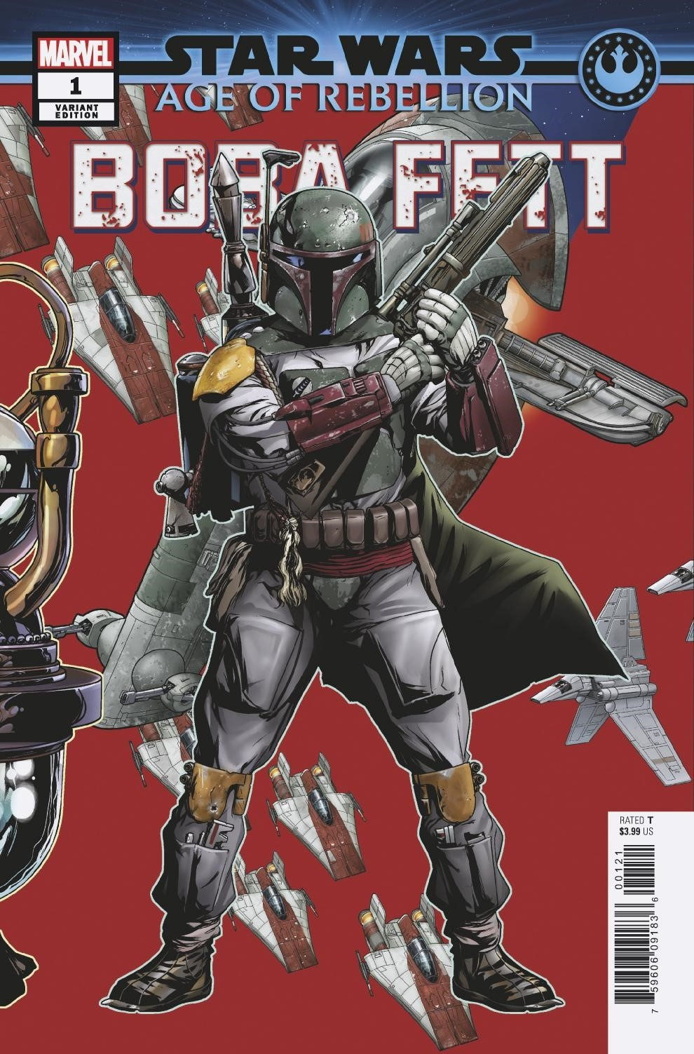 Age of Rebellion: Boba Fett #1 (Mike McKone Puzzle Piece Variant Cover 17 of 27) (08.05.2019)