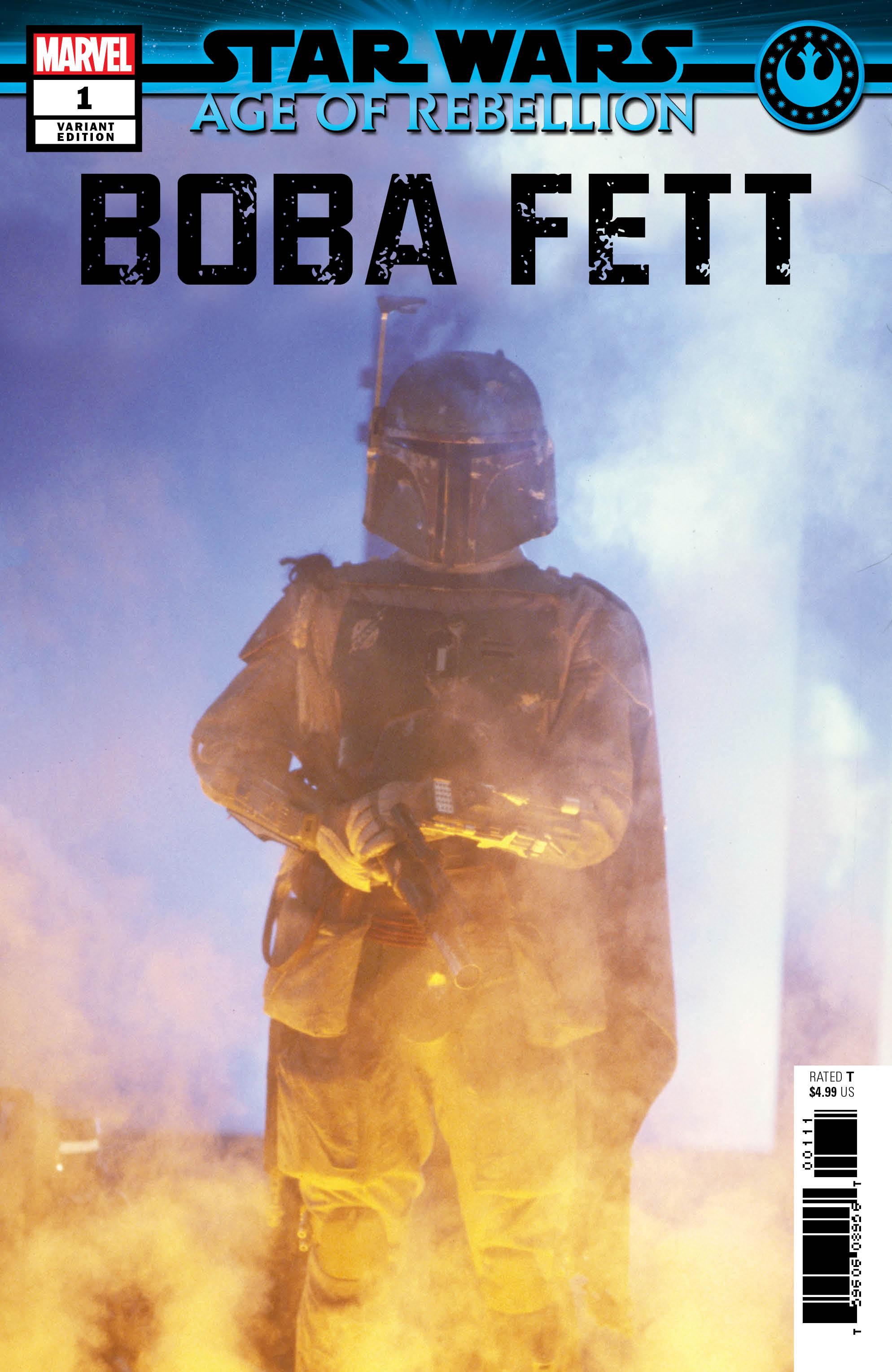 Age of Rebellion: Boba Fett #1 (Movie Variant Cover) (08.05.2019)