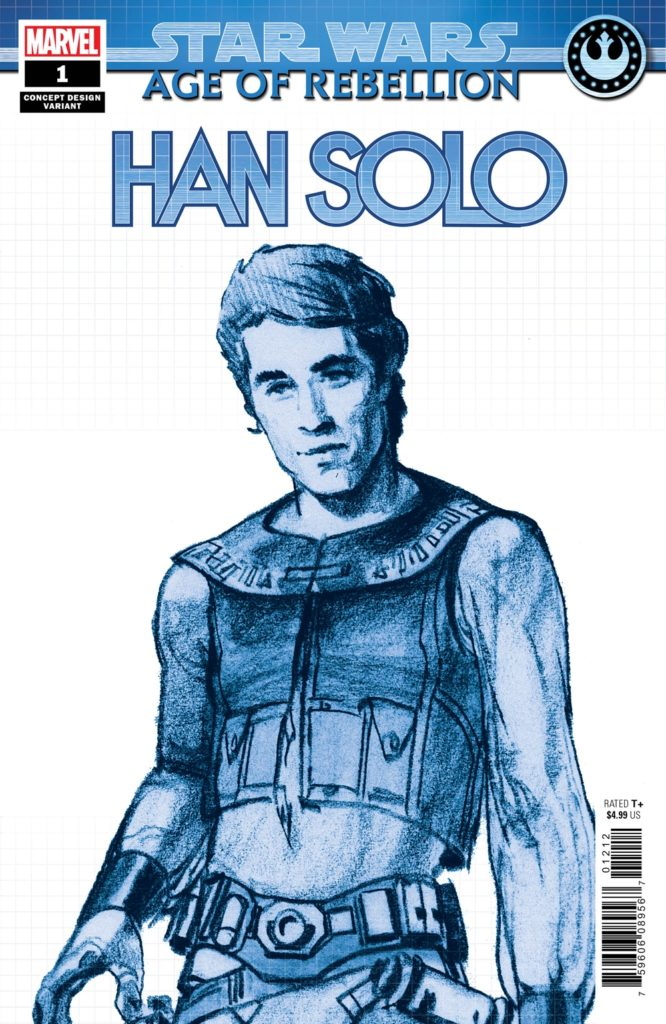Age of Rebellion: Han Solo #1 (Ralph McQuarrie Concept Design Variant Cover) (01.05.2019)