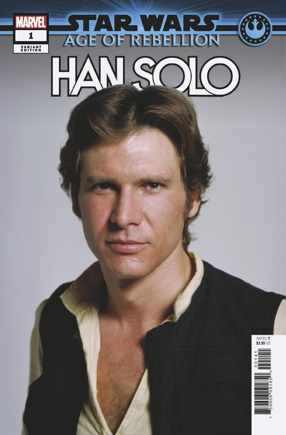 Age of Rebellion: Han Solo #1 (Movie Variant Cover) (01.05.2019)
