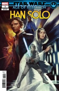 """Age of Rebellion: Han Solo #1 (Gerald Parel """"Heroes"""" Variant Cover) (01.05.2019)"""