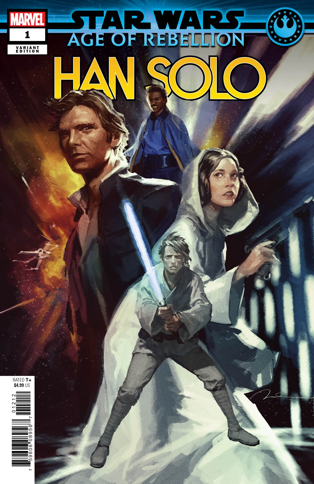 "Age of Rebellion: Han Solo #1 (Gerald Parel ""Heroes"" Variant Cover) (01.05.2019)"