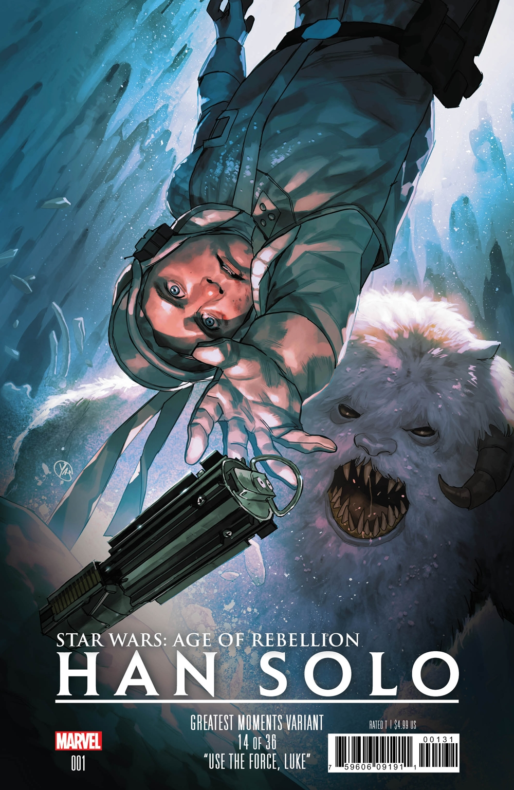 Age of Rebellion: Han Solo #1 (Yasmine Putri Greatest Moments Variant Cover 14 of 36) (01.05.2019)