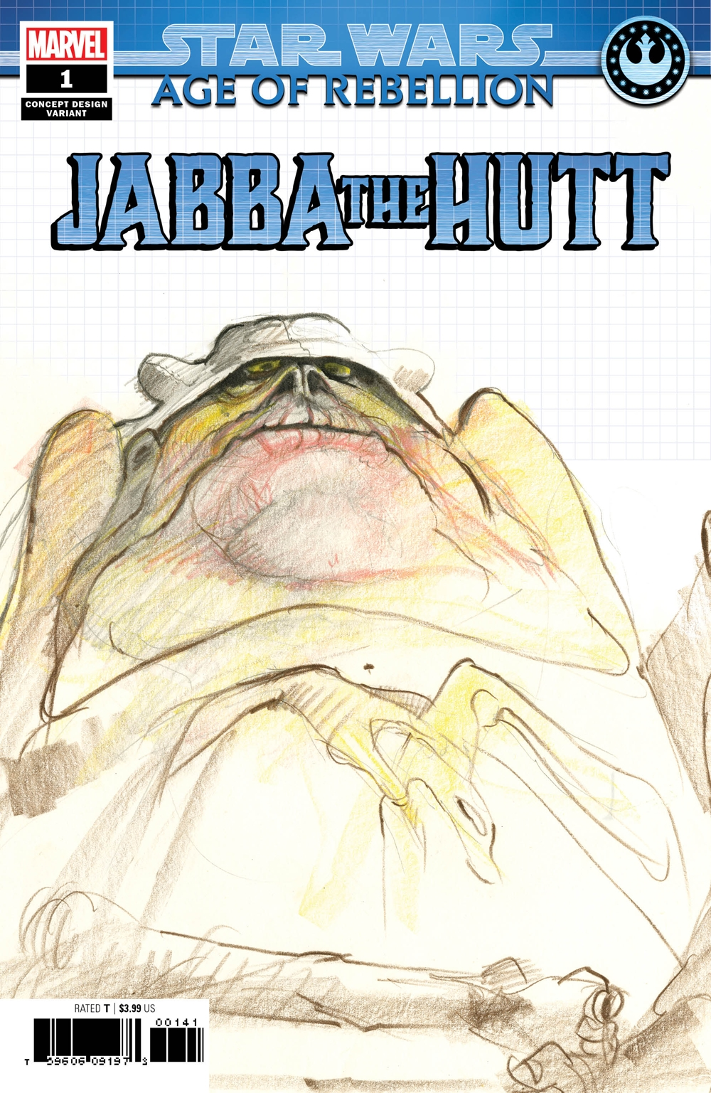 Age of Rebellion: Jabba the Hutt #1 (Concept Design Variant Cover) (22.05.2019)