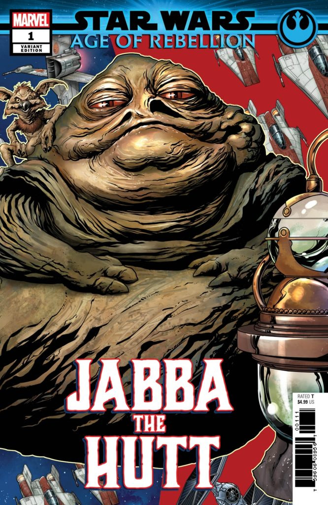 Age of Rebellion: Jabba the Hutt #1 (Mike McKone Puzzle Piece Variant Cover) (22.05.2019)