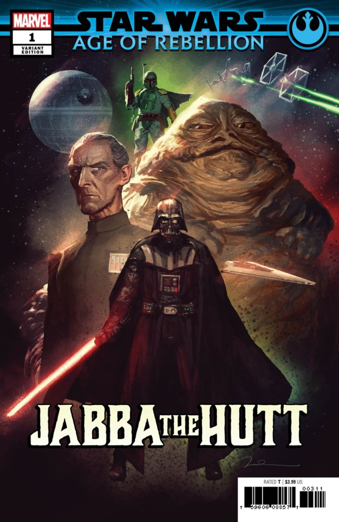 Age of Rebellion: Jabba the Hutt #1 (Gerald Parel Villains Variant Cover) (22.05.2019)