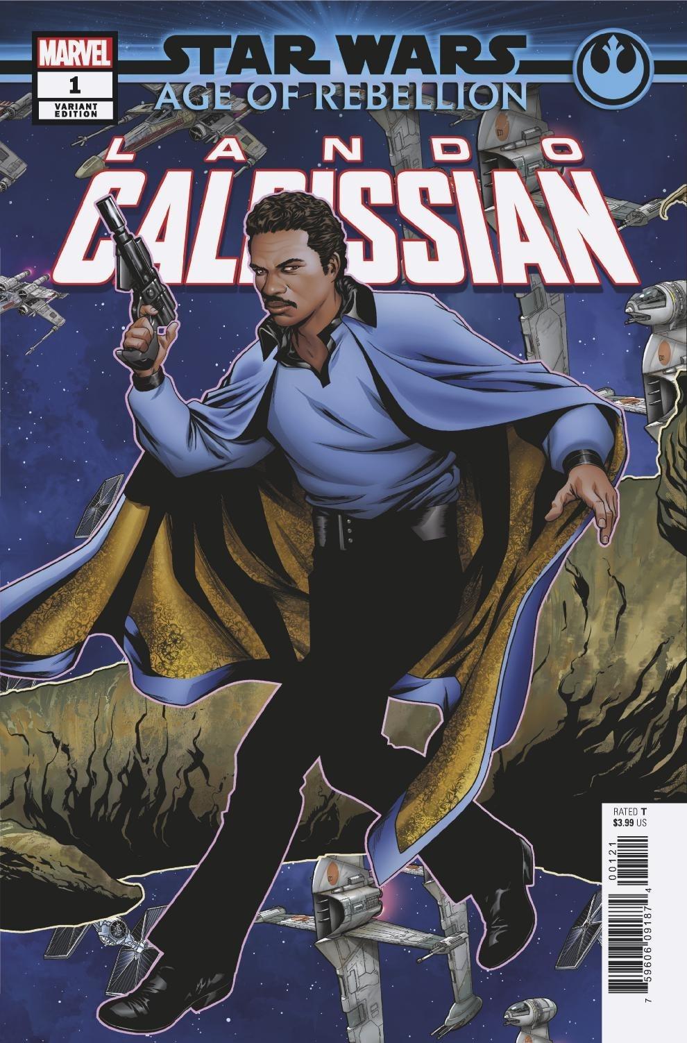 Age of Rebellion: Lando Calrissian #1 (Mike McKone Puzzle Piece Variant Cover 15 of 27) (15.05.2019)