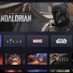 Disney+ User Interface