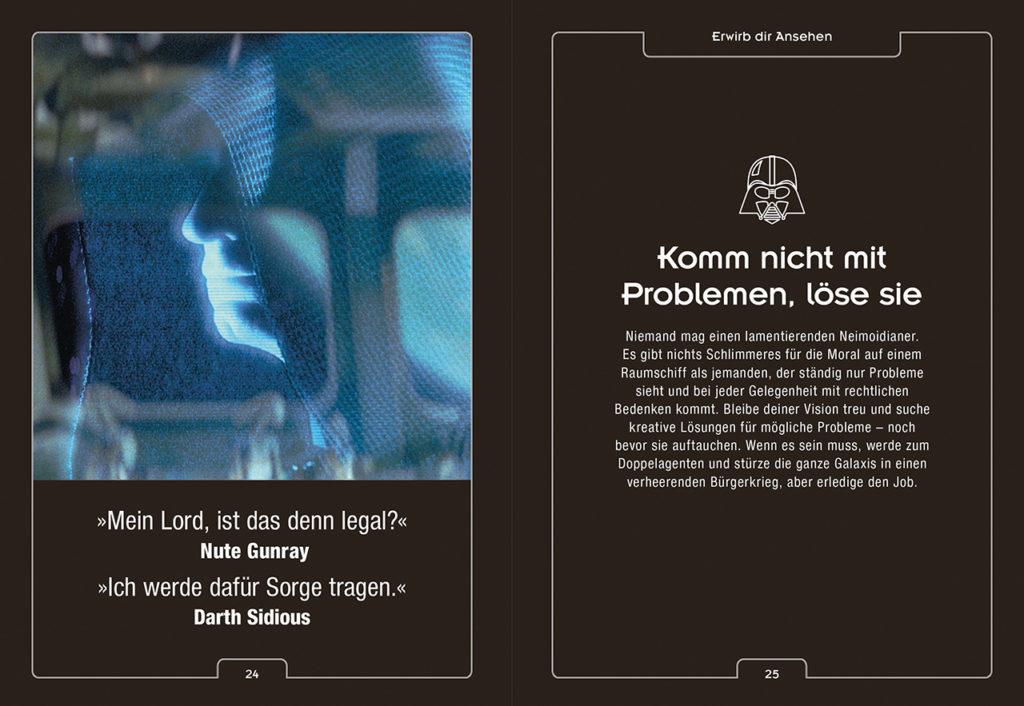 Entdecke Darth Vader in dir Vorschau Seiten 24 und 25