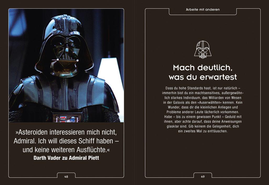Entdecke Darth Vader in dir Vorschau Seiten 48 und 49