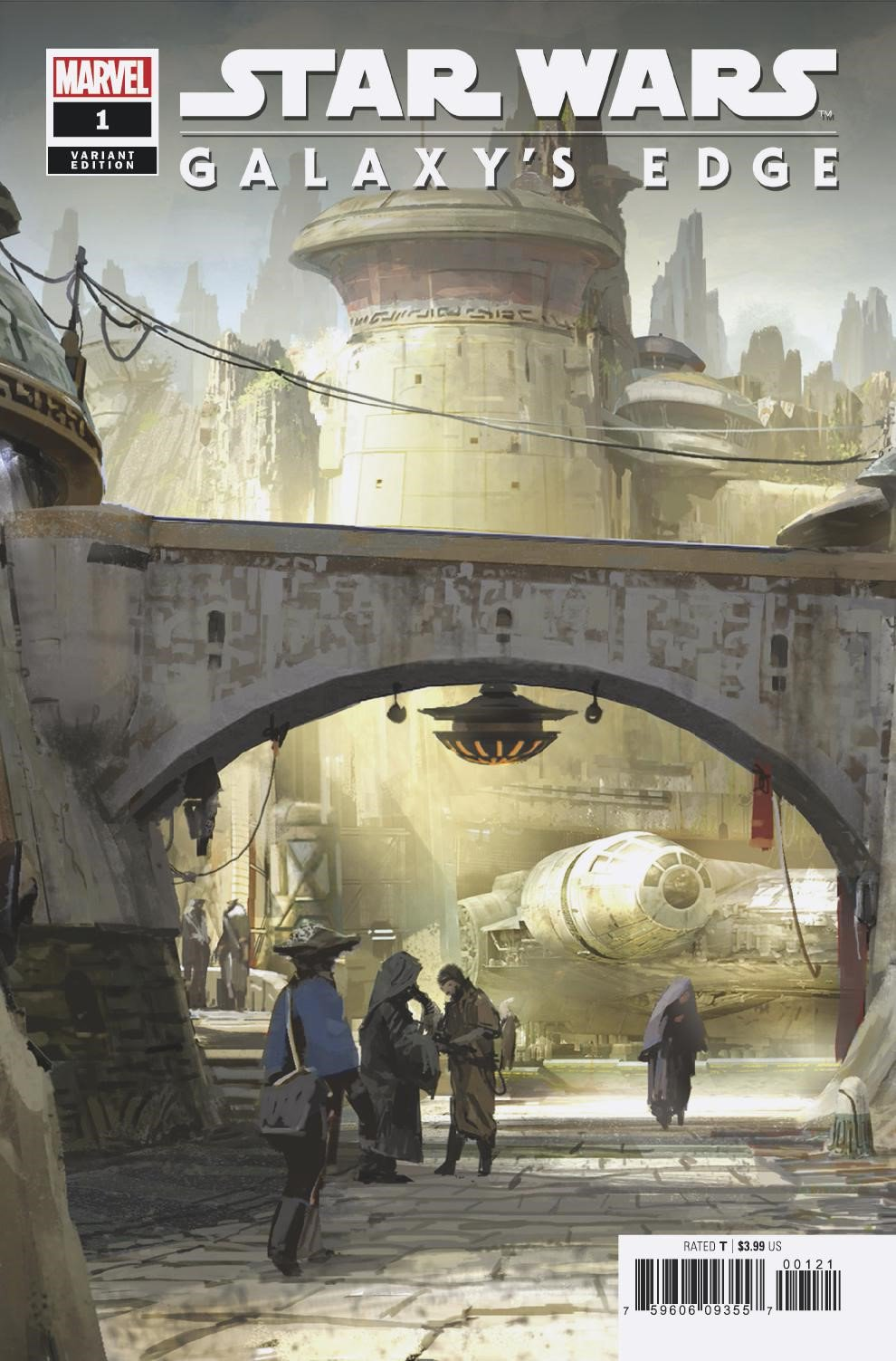 Galaxy's Edge #1 (Richard Lim Attraction Variant Cover) (24.04.2019)
