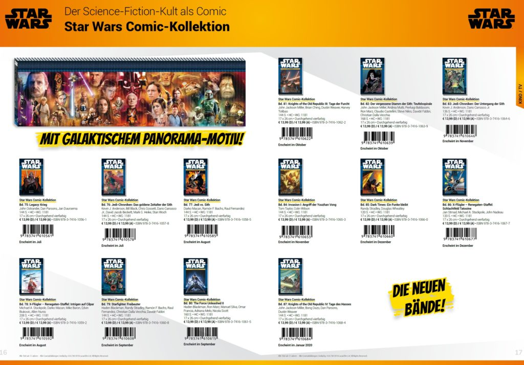 Star Wars Comic-Kollektion 2019/02