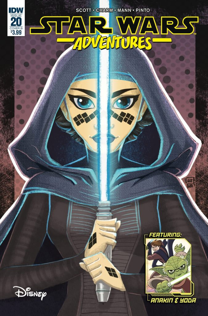 Star Wars Adventures #20 (Cover B by Valentina Pinto) (17.04.2019)