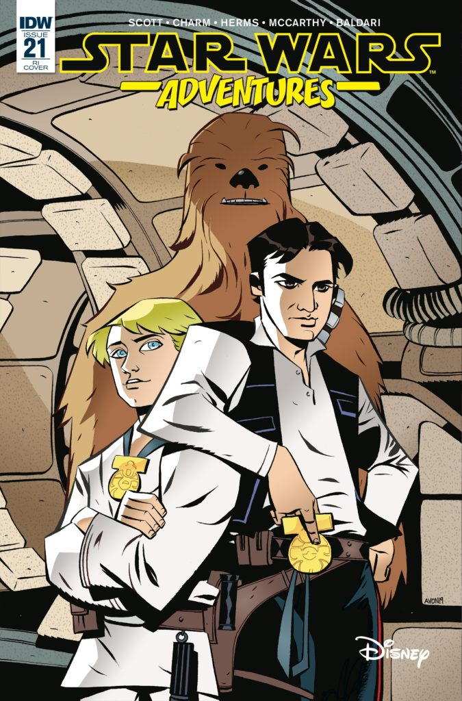 Star Wars Adventures #21 (Mike Oeming Variant Cover) (22.05.2019)