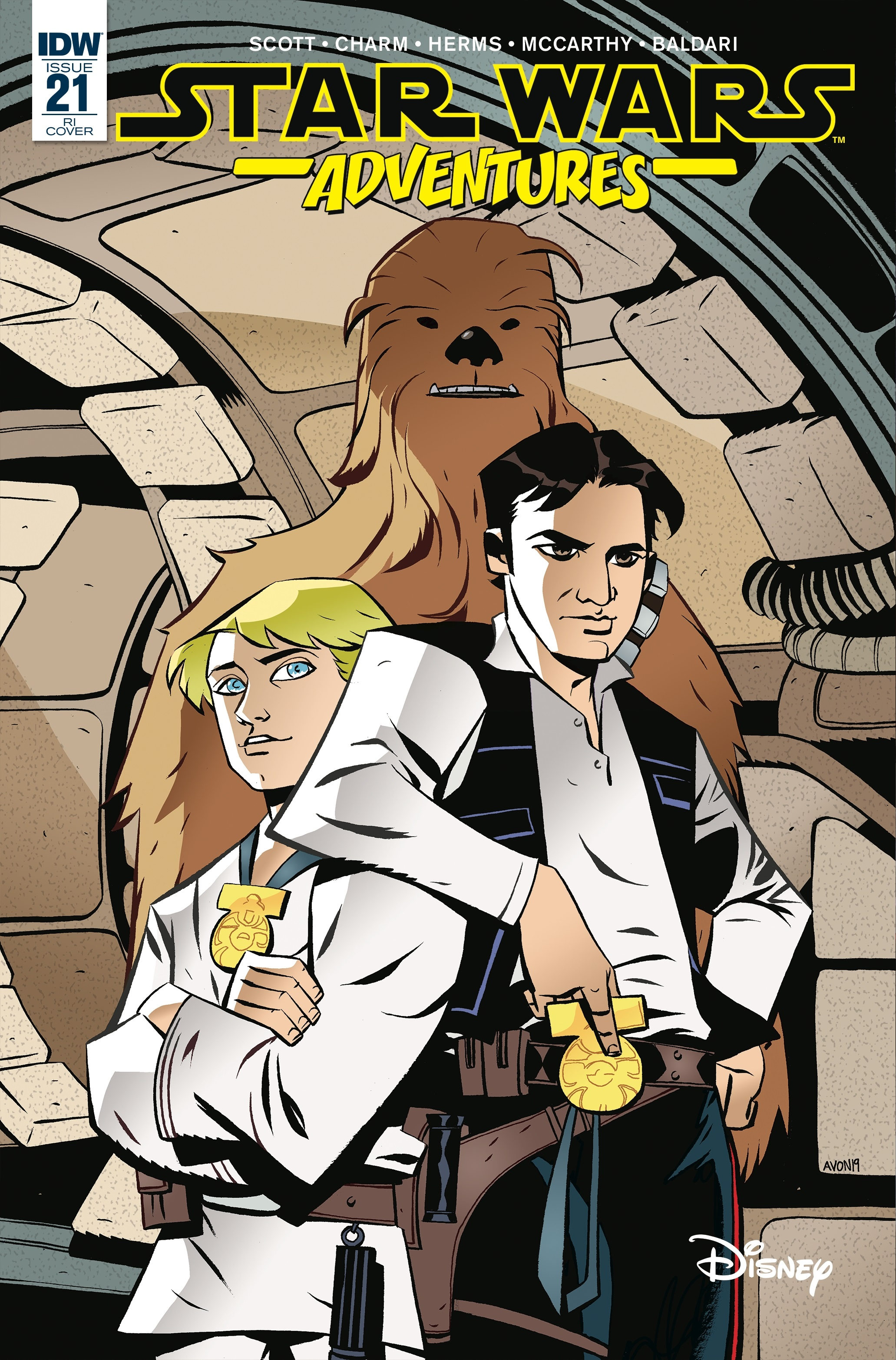 Star Wars Adventures #21 (Mike Oeming Variant Cover) (08.05.2019)