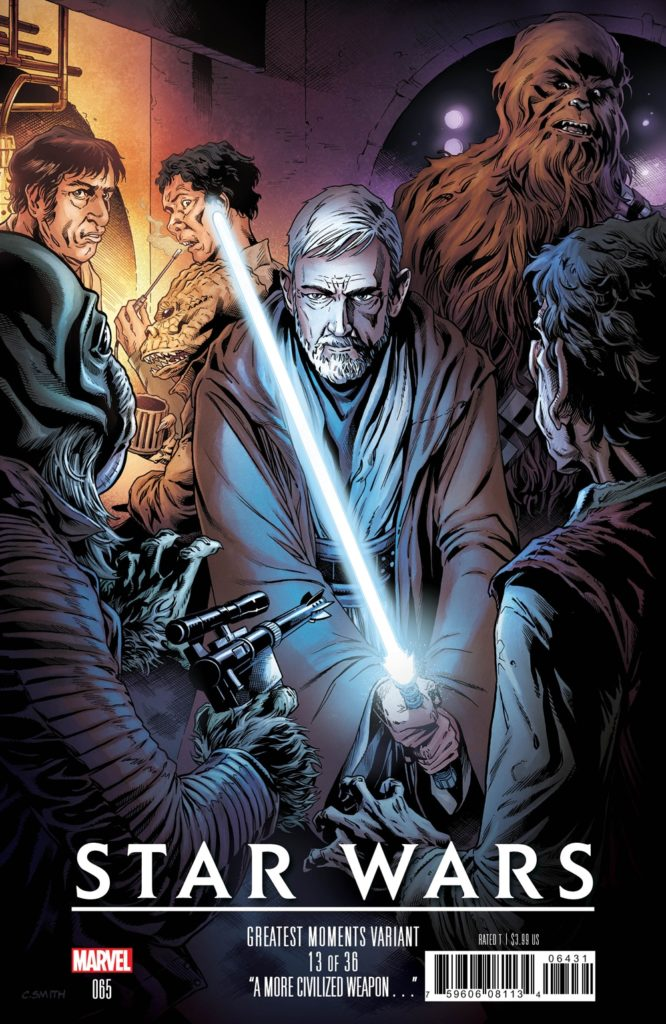 Star Wars #65 (Cory Smith Greatest Moments Variant Cover 13 of 36) (01.05.2019)
