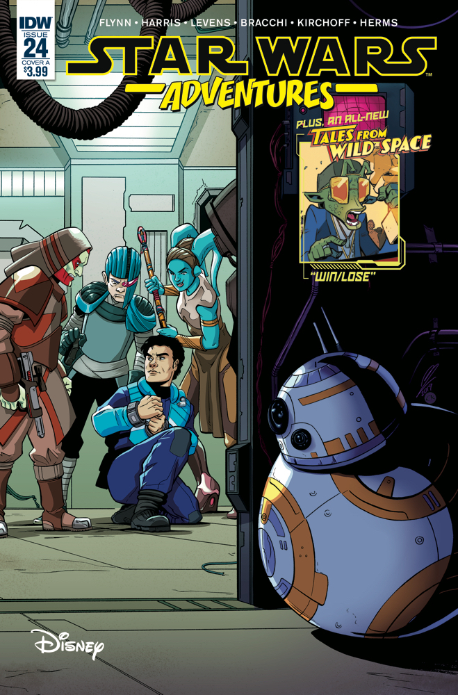 Star Wars Adventures #24 (Cover A by Megan Levens) (Juli 2019)