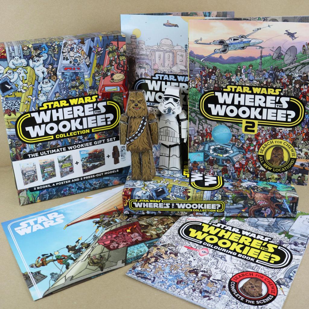 Die Inhalte der Where's The Wookiee? Collection
