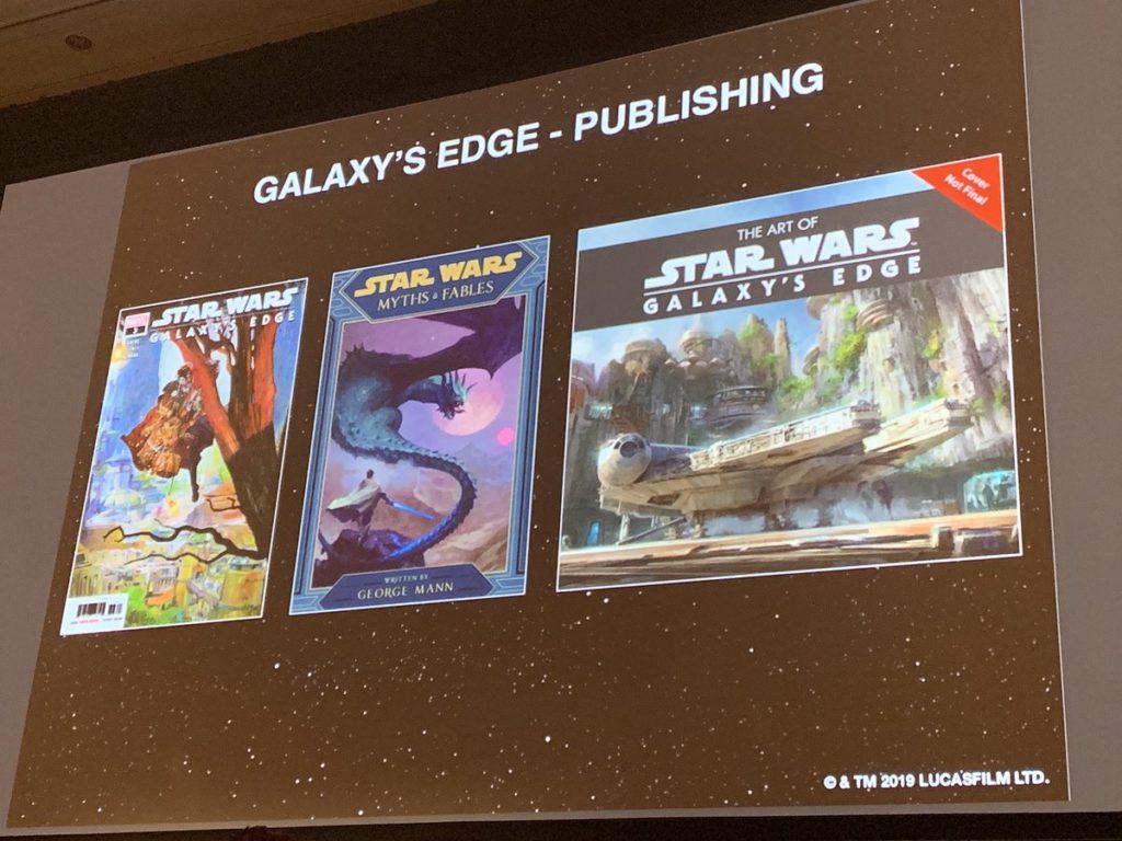 Buchprogramm zu Galaxy's Edge