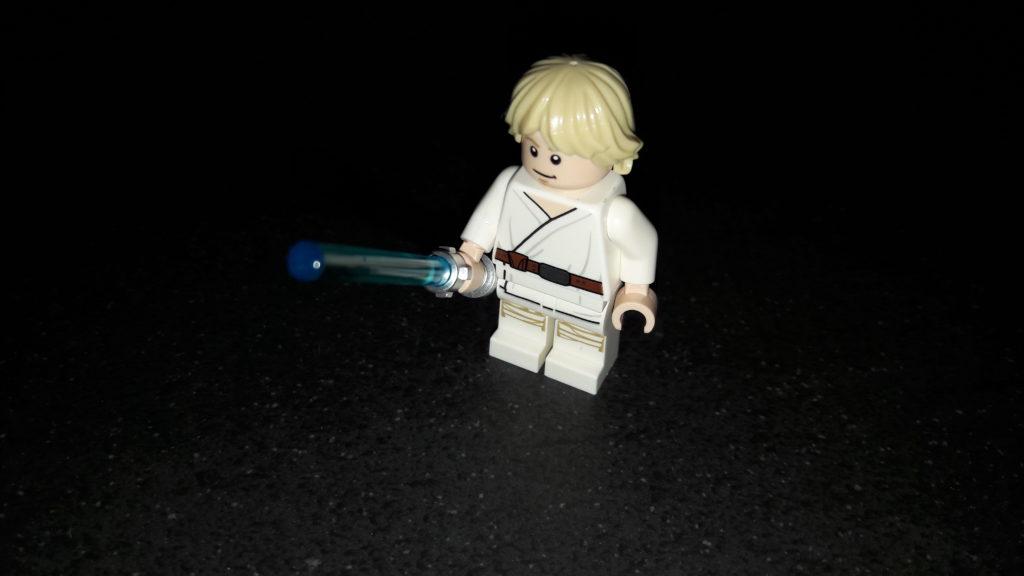LEGO Star Wars Magazin #43 - Luke Skywalker - Minifigur lächelnd