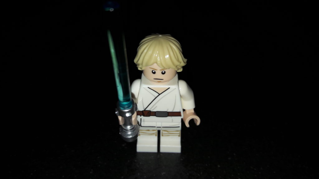 LEGO Star Wars Magazin #43 - Luke Skywalker - Minifigur ernst