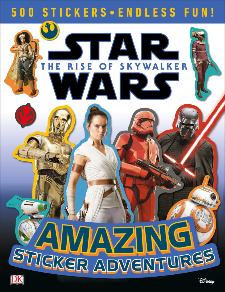 Star Wars: The Rise of Skywalker: Amazing Sticker Adventures (04.10.2019)