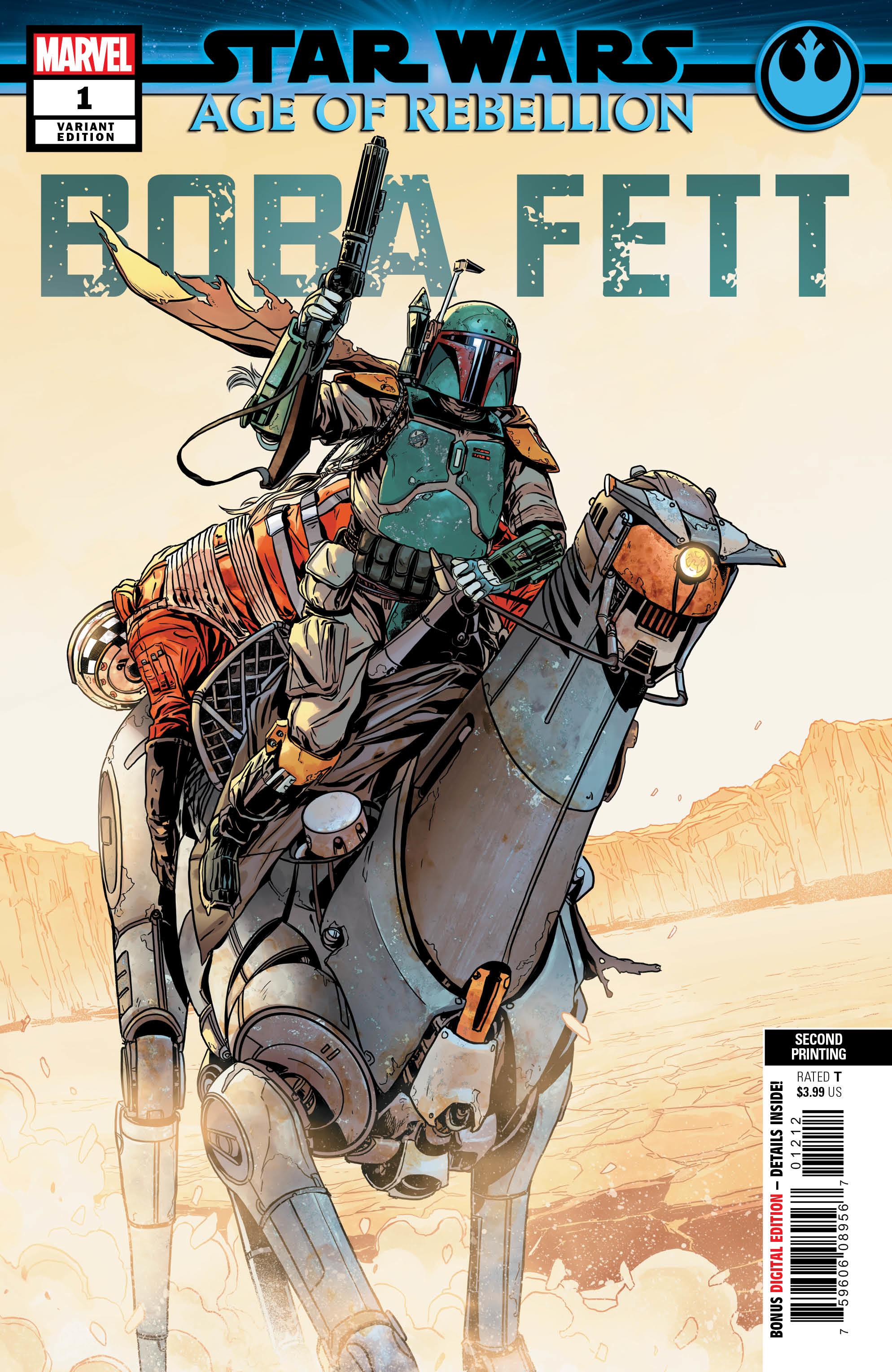 Age of Rebellion: Boba Fett #1 (2nd Printing) (12.06.2019)