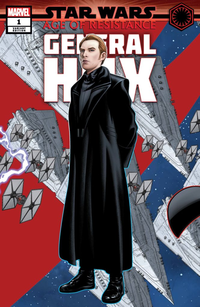 Age of Resistance: General Hux #1 (Mike McKone Puzzle Piece Variant Cover) (28.08.2019)