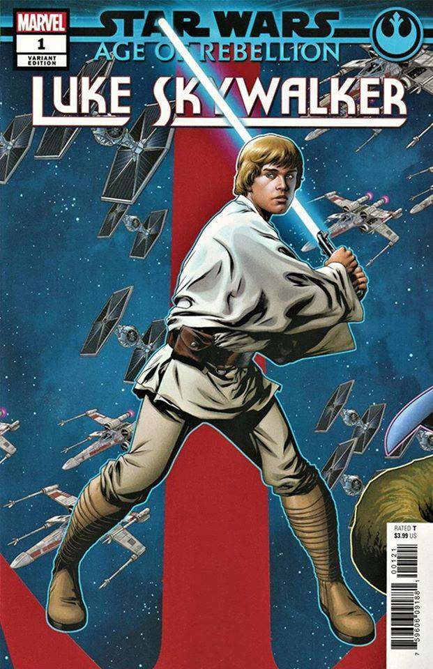Age of Rebellion: Luke Skywalker #1 (Mike McKone Puzzle Piece Variant Cover 14 of 27) (05.06.2019)