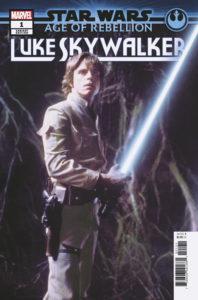 Age of Rebellion: Luke Skywalker #1 (Movie Variant Cover) (05.06.2019)