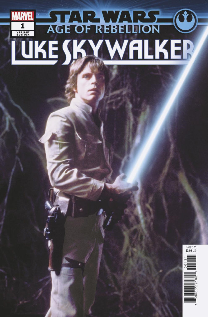 Age of Rebellion: Luke Skywalker #1 (Movie Variant Cover) (05.06.2019)