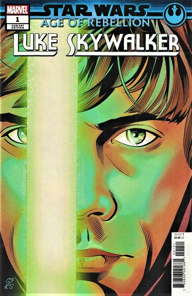 Age of Rebellion: Luke Skywalker #1 (Chris Sprouse Variant Cover) (05.06.2019)