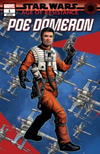 Age of Resistance: Poe Dameron #1 (Mike McKone Puzzle Piece Variant Cover) (28.08.2019)