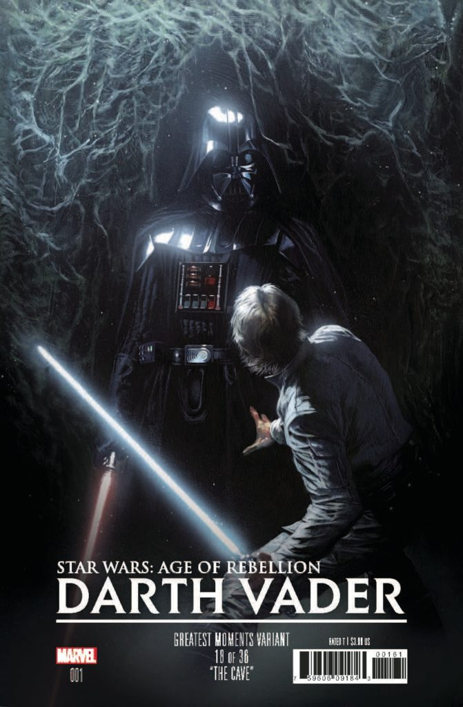 Age of Rebellion: Darth Vader #1 (Gabriele Dell'Otto Greatest Moments Variant Cover 18 of 36) (26.06.2019)