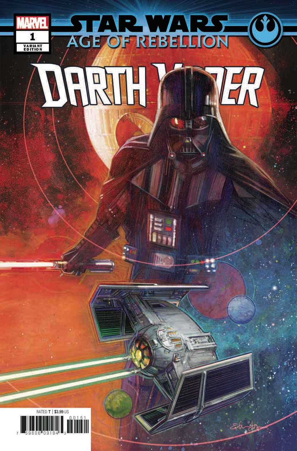 Age of Rebellion: Darth Vader #1 (Tommy Lee Edwards Variant Cover) (26.06.2019)