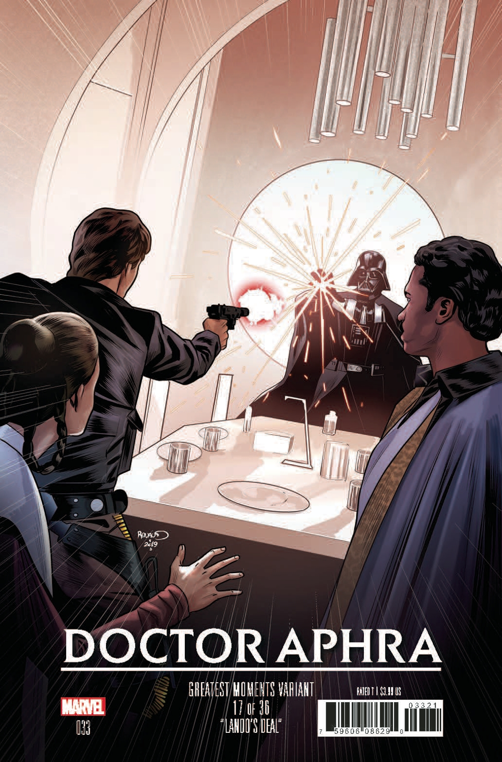 Doctor Aphra #33 (Paul Renaud Greatest Moments Variant Cover 17 of 36) (19.06.2019)