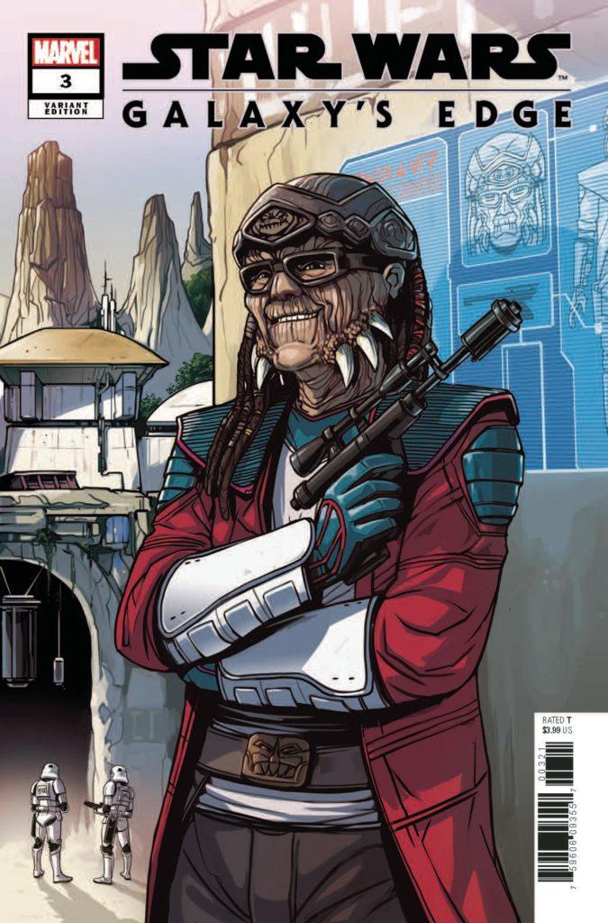 Galaxy's Edge #3 (Caspar Wijngaard Hondo Ohnaka Variant Cover) (26.06.2019)