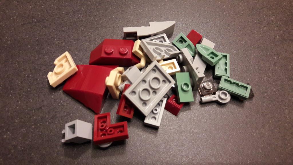 LEGO Star Wars Magazin #45 - Slave I - Bauteile