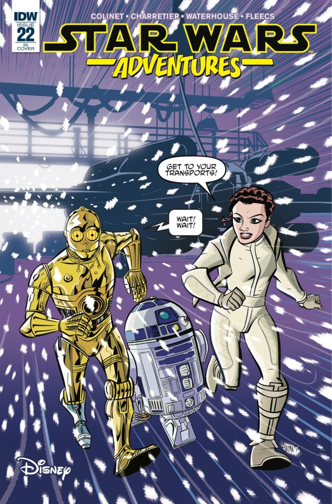 Star Wars Adventures #22 (Mike Oeming Variant Cover) (05.06.2019)
