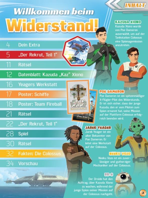<em>Star Wars Resistance Animation</em> #1 - Inhalt