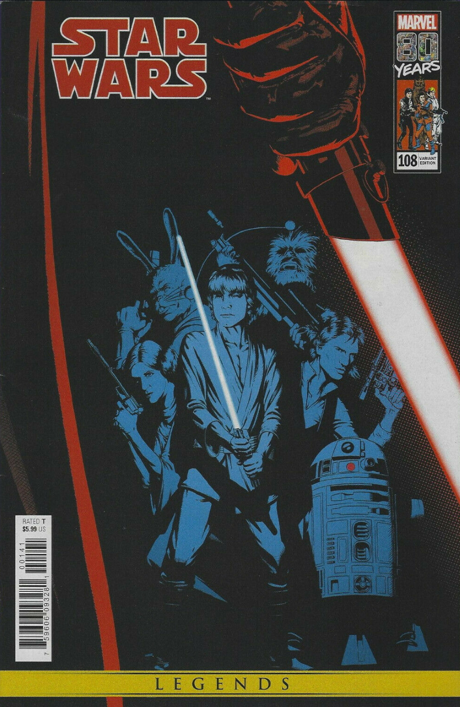 Star Wars #108 (John Tyler Christopher Variant Cover) (29.05.2019)