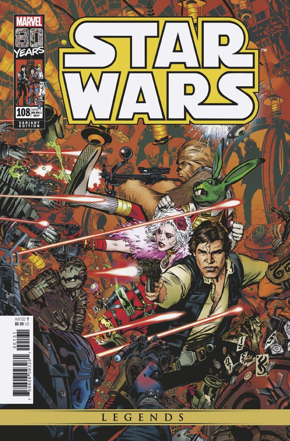 Star Wars #108 (Michael Golden Variant Cover) (29.05.2019)