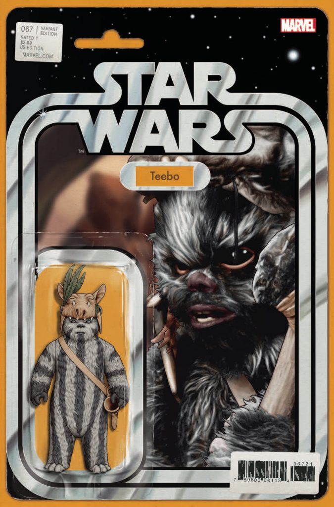 Star Wars #67 (Action Figure Variant Cover) (19.06.2019)