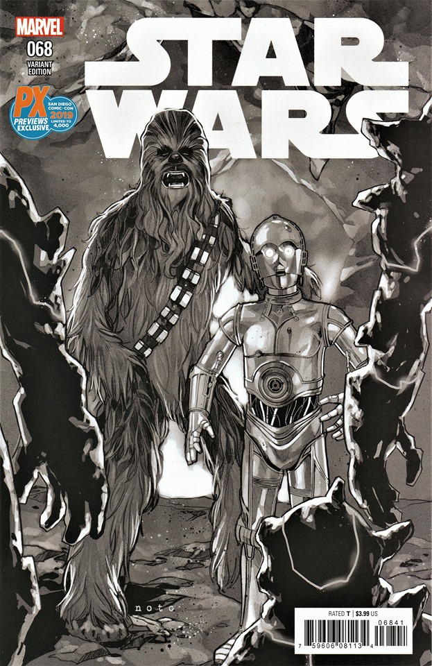 Star Wars #68 (Phil Noto SDCC Black & White Variant Cover) (18.07.2019)