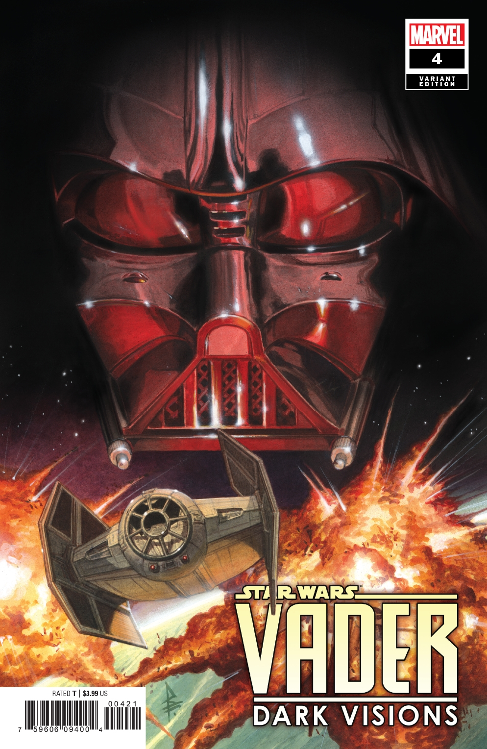 Vader: Dark Visions #4 (Riccardo Federici Variant Cover) (29.05.2019)