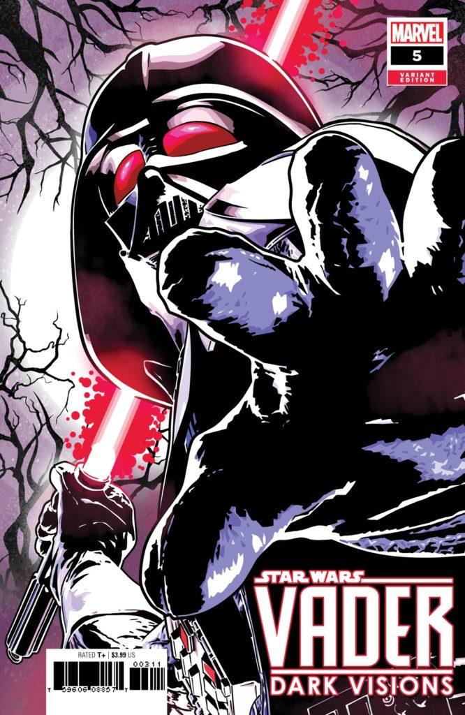 Vader: Dark Visions #5 (Aco Variant Cover) (12.06.2019)